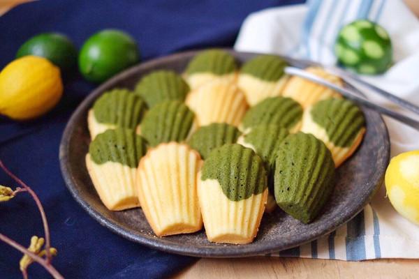 #精品菜谱挑战赛#精巧小贝壳——抹茶柠檬玛德琳的做法