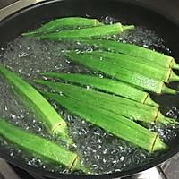 蒜香秋葵的做法图解4