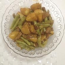 芸豆炖土豆肉