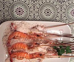 盐焗椒盐虾的做法