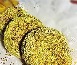 芝麻椒盐烧饼的做法