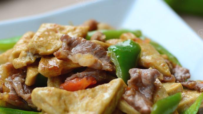 【青椒炒豆腐】——贵州家常小炒