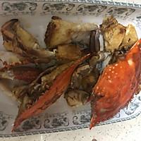 香辣梭子蟹烩年糕的做法图解17