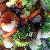 翡翠虾仁的做法图解9