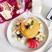 平底锅就能做快手营养早餐pancake