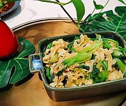 薄百叶鸡毛菜❤️素食营养减肥减脂❤️蜜桃爱营养师私厨的做法