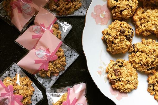 低糖无脂燕麦饼干 减肥零食的做法