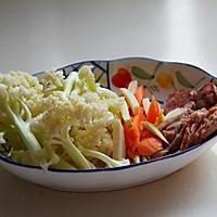 干锅松花菜的做法图解1