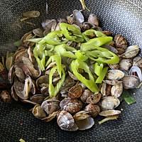 辣炒花蛤的做法图解8