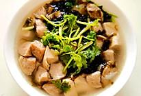紫菜豆腐肉丸汤的做法