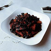梅肉香菇蚝豆腐
