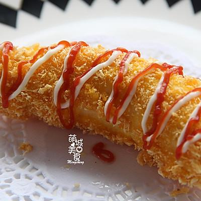 【最爱美食】外皮很香酥内里鲜嫩の黄金脆皮香蕉