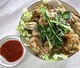 潮汕人家的蚝烙煎的做法