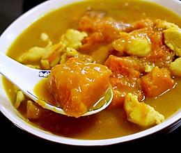 咖喱南瓜鸡肉的做法