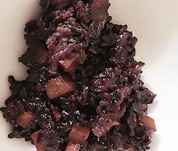 黑米甜饭的做法