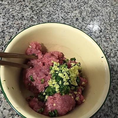 肉丸子汤的做法 步骤3