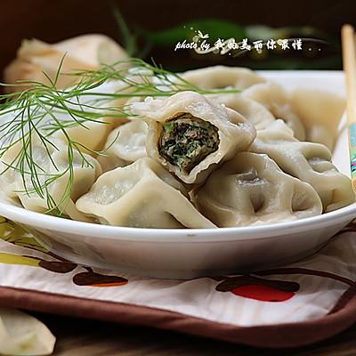 冬至到,吃饺子【茴香猪肉饺】