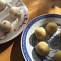 曲奇椰蓉蔓越莓月饼,外酥内软好调戏,比广式月饼好吃N+1倍的做法图解7