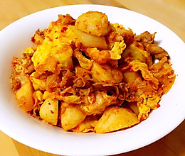 辣白菜杂焖锅的做法
