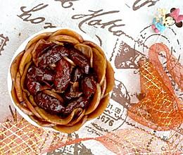 #下饭红烧菜# 糖水苹果煎大枣的做法
