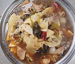 酸菜冬笋的做法
