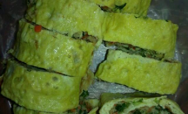 鸡蛋肉卷(专为不吃熟红萝卜,香菇人群设计)