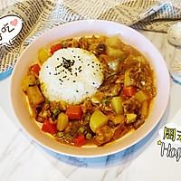 小熊咖喱牛腩饭#奇妙咖喱,拯救萌娃食欲#的做法图解20