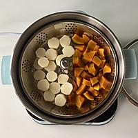 奶香南瓜山药小丸子#秋天怎么吃#的做法图解4