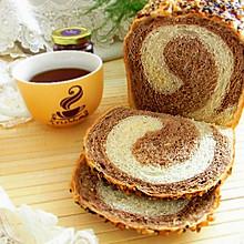 面包机版双色土司#东菱魔法云面包机#