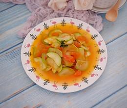 番茄炒西葫芦的做法