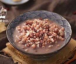 红豆薏米芡实祛湿三宝粥的做法