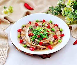 #中秋团圆食味,就爱这口家乡味#风味双椒蒸海鳗的做法