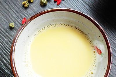 菊花枸杞豆浆