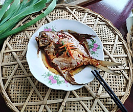 红烧鲳鱼的做法