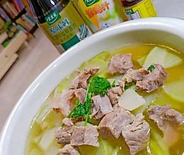 #做饭吧!亲爱的#萝卜牛肉汤