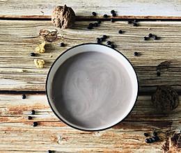 核桃红枣黑豆浆的做法