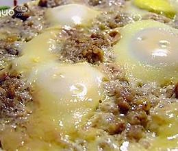 除夕美味肉馅蒸蛋的做法