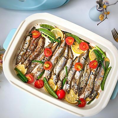 煎烤多春鱼