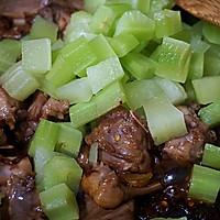 干锅青笋兔肉的做法图解9