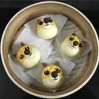 #年味十足的中式面点#柴犬豆沙包的做法图解14