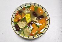 胡萝卜玉米汤#元宵节美食大赏#的做法