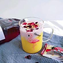 #轻饮蔓生活#蔓越莓芒果奶昔