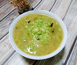 #营养小食光#蒜香丝瓜毛豆的做法