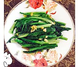 蚝油蒜末油麦菜的做法