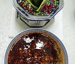老干妈肉丁辣椒油的做法