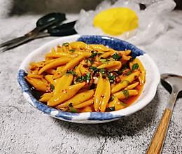 #憋在家里吃什么#酸辣开胃凉拌剪刀面的做法