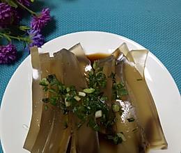 乐乐自家菜--鱼鳞冻的做法