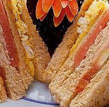 懒人的健康早餐-自制三文治