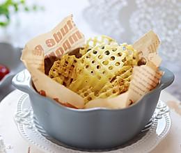 #美食视频挑战赛#  脆香椒盐薯格,比薯片更好吃的做法