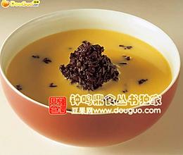 杏汁南瓜紫米露的做法